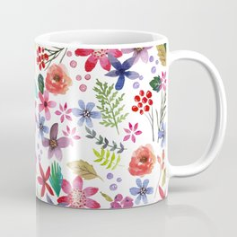 """""""The earth laughs in flowers"""" Coffee Mug"""