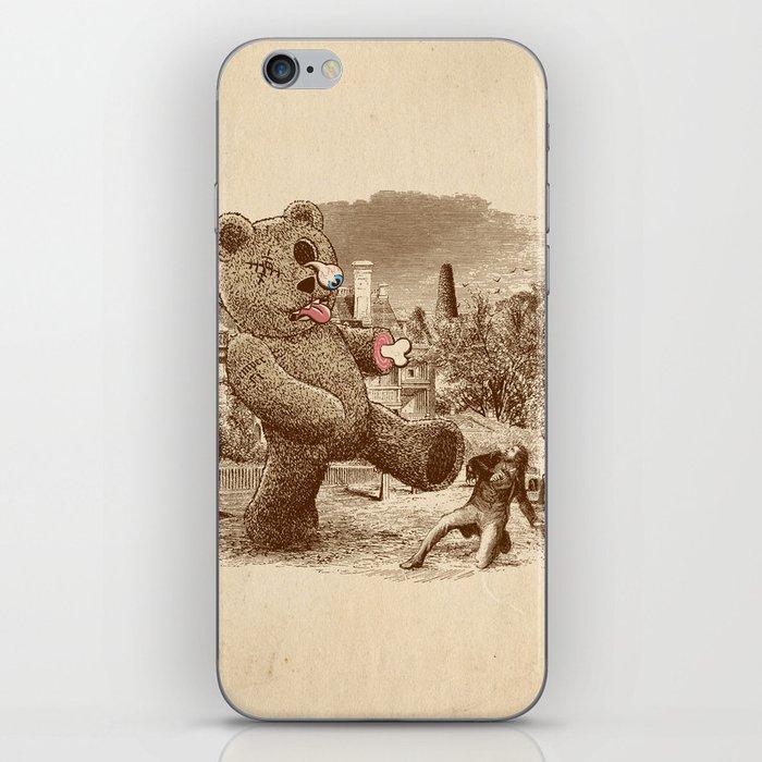 Teddy's Back! iPhone Skin