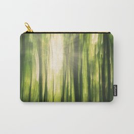 Forest Sunburst V Carry-All Pouch