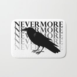 Quoth the Raven 'Nevermore' Bath Mat