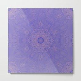 Beautiful lavender kaleidoscope Metal Print