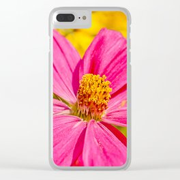 Pink beauty Clear iPhone Case