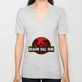 Park dragon ball world Unisex V-Neck