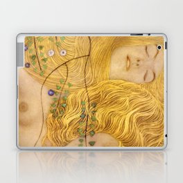 Gustav Klimt - Water Serpents, 1 (detail) Laptop & iPad Skin