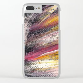 Cosmic costellation 4 Clear iPhone Case
