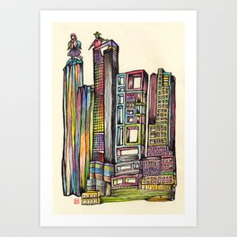 North Point Art Print