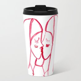kissing nuns Travel Mug