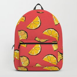 Lemon contrast Backpack