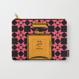 No 5  (Pink) Carry-All Pouch
