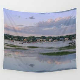 Annisquam river reflections #2 Wall Tapestry