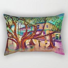 Lahaina Banyan Tree Of Life Rectangular Pillow