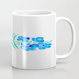 Blooming Orchid – Mint & Blue Palette Coffee Mug