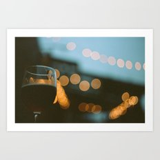Every Hour is Happy Hour Art Print