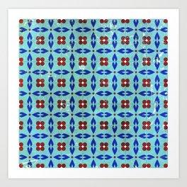 traditional tiles Art Print