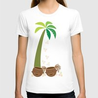 coconut wishes T-shirts featuring Coconut Twins by HK Chik