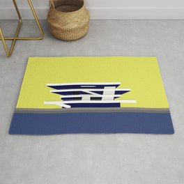 America's Cup Chipperfield Architecture Rug