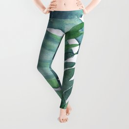 Tropical  Leaves Leggings