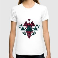 crystals T-shirts featuring Crystals  by Claudia Owen