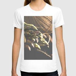 Fresch Asparagus on the table T-shirt