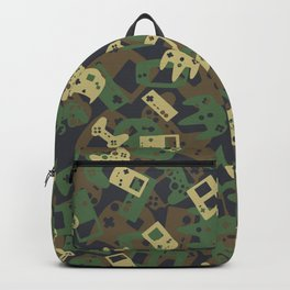 Gamer Camo WOODLAND Backpack