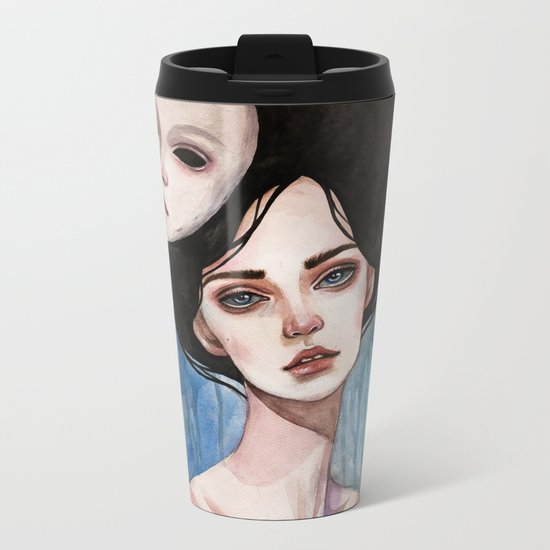 Impersonality Metal Travel Mug