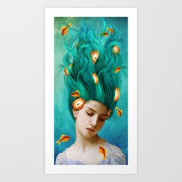 Sweet Allure Art Print