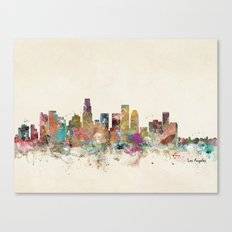 los angeles california Canvas Print