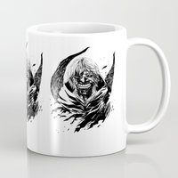 tokyo ghoul Mugs featuring Kaneki Tokyo Ghoul 2 by Prince Of Darkness