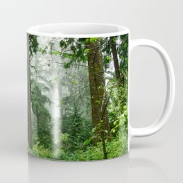 Light Fog in the Dense Forest Coffee Mug