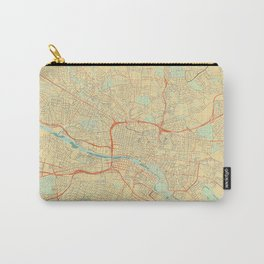 Glasgow Map Retro Carry-All Pouch