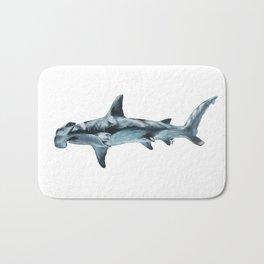 Great Hammerhead Shark Bath Mat