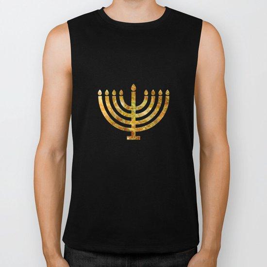 Hanukkah, the Festival of Lights Biker Tank