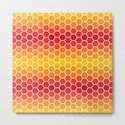 Warm Hexagons by chrisculley