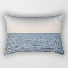 Cloud Contemplation Rectangular Pillow