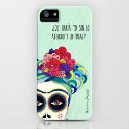 Frida by Patricia Fornos iPhone Case