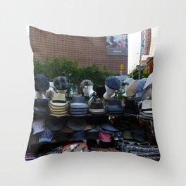 NYC Haberdasher Throw Pillow
