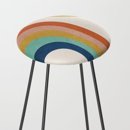 The Sun and a Rainbow Counter Stool