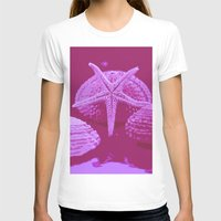 seashell T-shirts featuring seashell 4 by gzm_guvenc