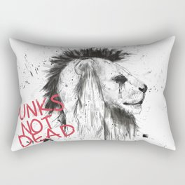 Punks not dead Rectangular Pillow