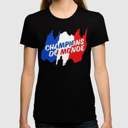 World Champions French Soccer Football T-shirt