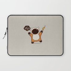 I May Be Awesome, but... Laptop Sleeve