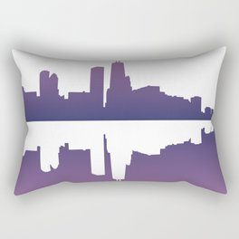 Chicago Afternoon Rectangular Pillow