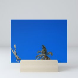 Diver & Sky Mini Art Print