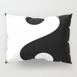Yin and Yang - Brown Pillow Sham
