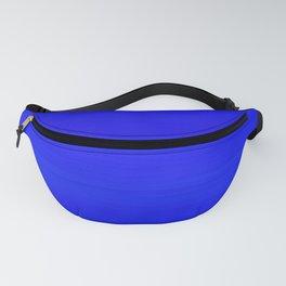 Solid Cobalt Blue - Brush Texture Fanny Pack