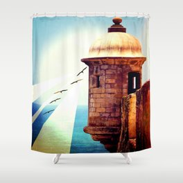 Balance Of Thought Shower Curtain