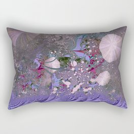 The ocean and skies of random thoughts Rectangular Pillow