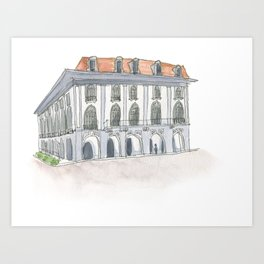 Panama Canal Museum Art Print