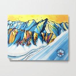 Majestic Heli Ski 2017 Metal Print