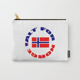 motto of norway 3 -alt for norge Carry-All Pouch